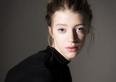 Foto modell med veske