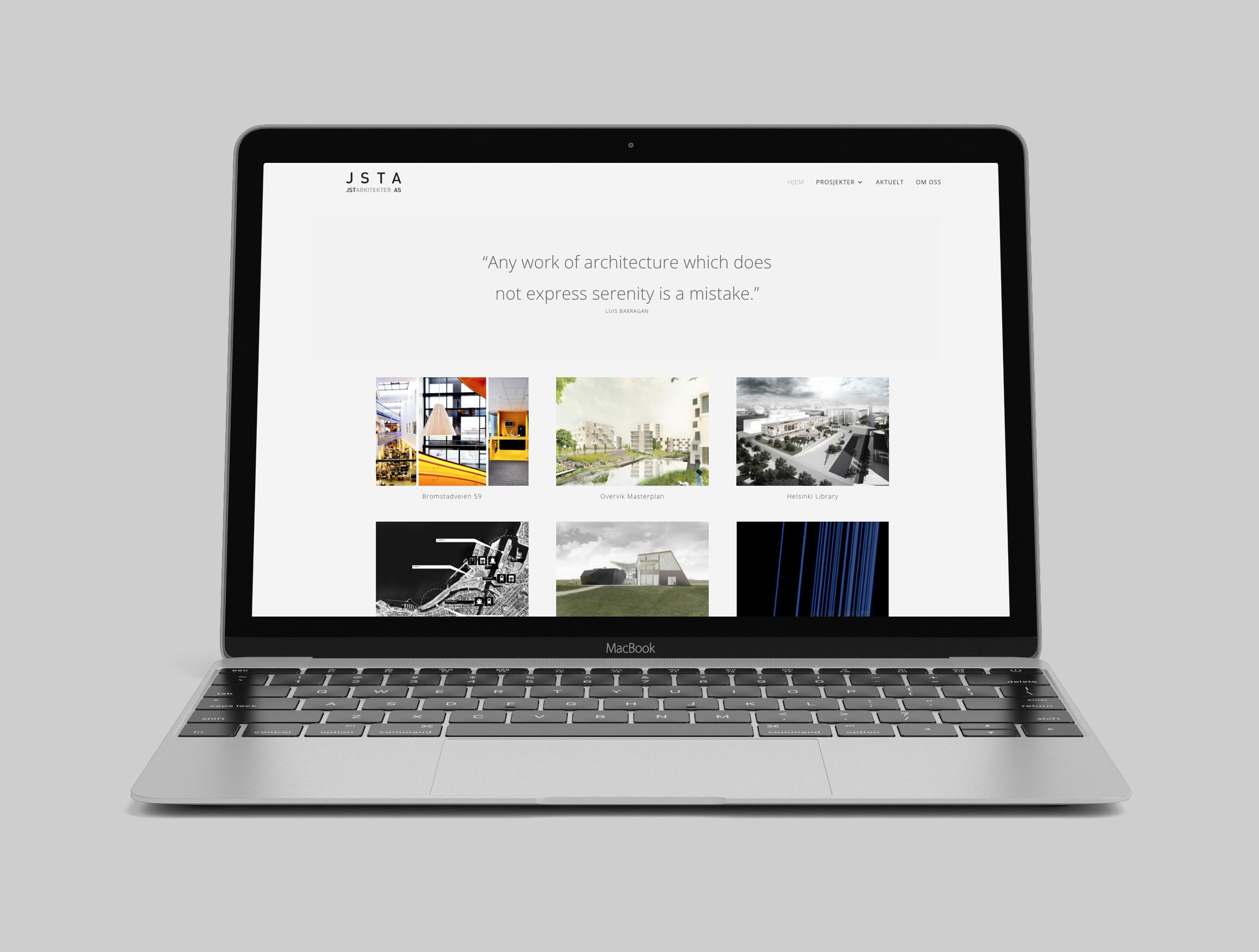 Ny nettside for JSTArkitekter