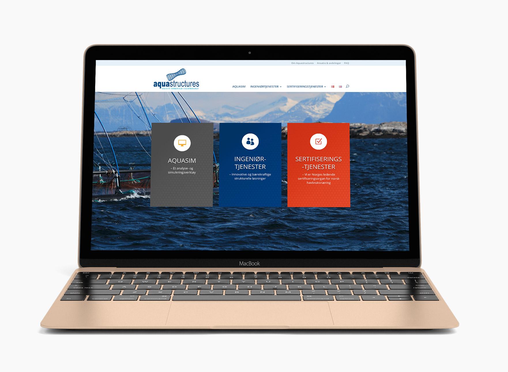 Ny nettside Aquastructures