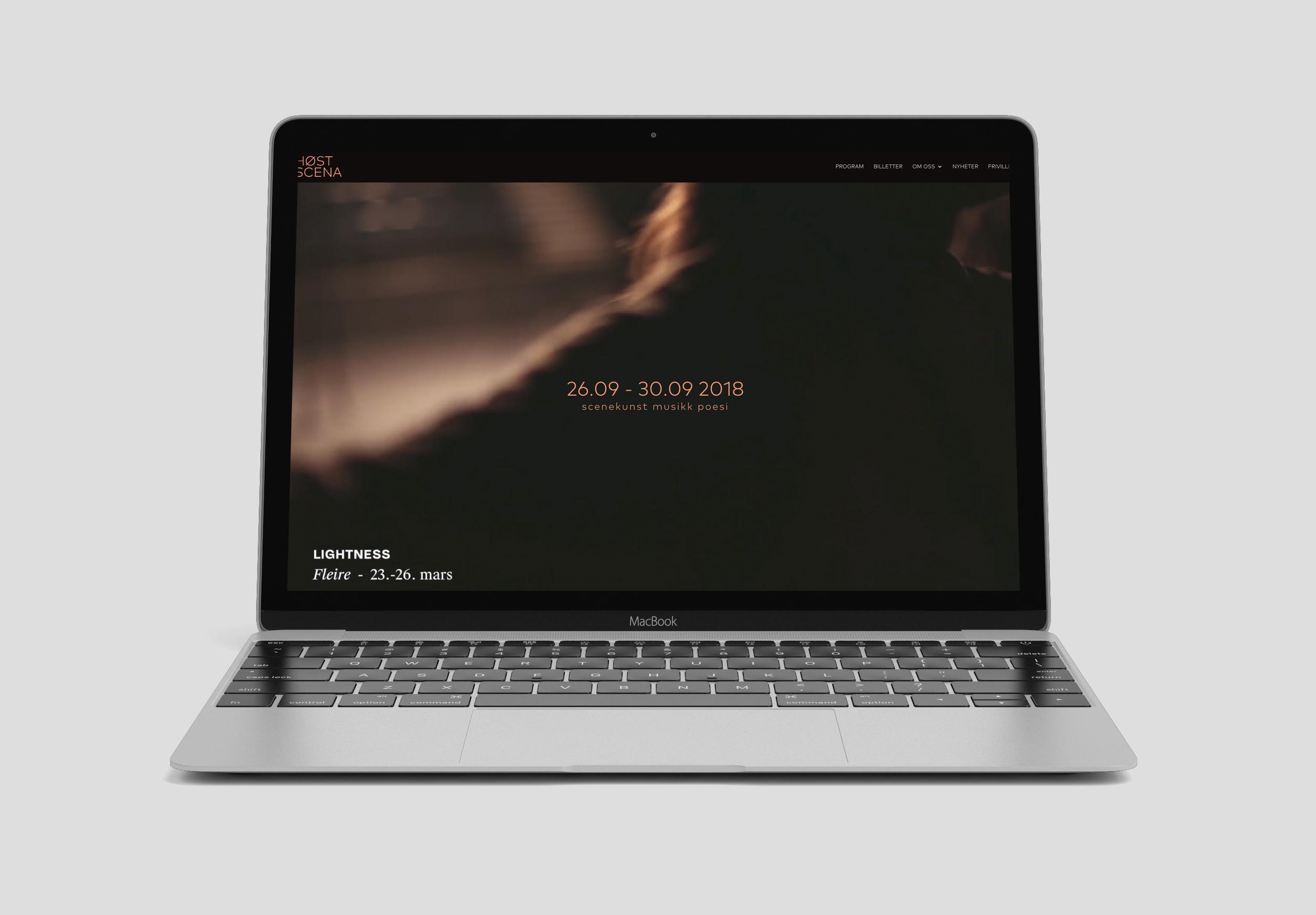 Ny nettside Høstscena
