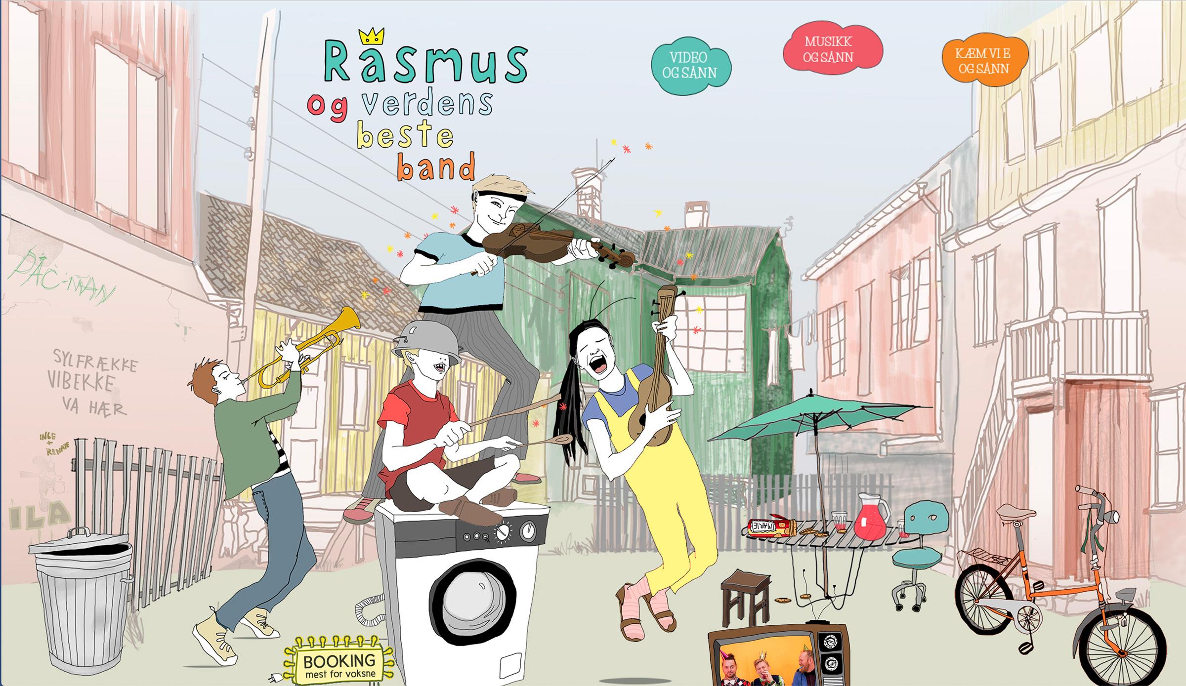 Rasmus og verdens Beste Band
